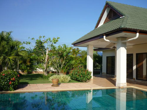 House For Sale Beautiful Bungalow With Private Swimming Pool Chiang Rai